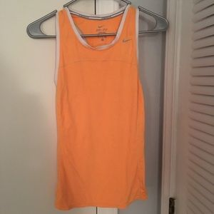 Women's Nike Dry Fit Razorback Tank Top Size Small